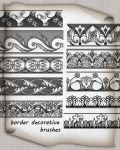 Border Brushes Decorative  by roula33