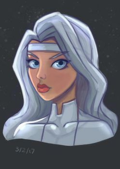 Silver Sable by mattsnyman