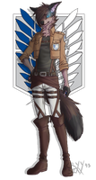 Shingeki no Kyojin Cryy Uniform ref by cyrkun