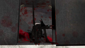 SCP OC: SCP-2962 in his cell by Dragonrage19