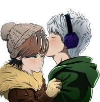 Winter kiss by Laven96