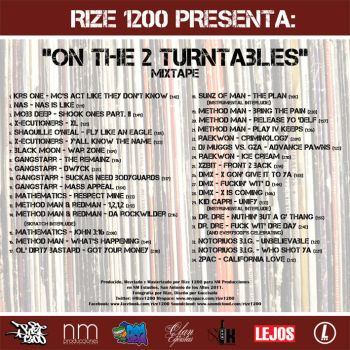 On the 2 Turntables Mixtape 2 by elgucci