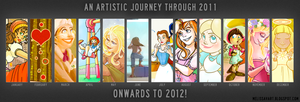 2011 Art summary by Ermy