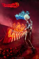 Impressive - Dante DMC3 Cosplay Agni and Rudra by LeonChiroCosplayArt