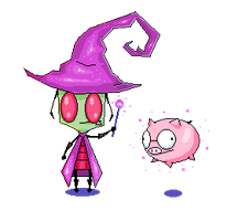 Wizard Zim by FourBadQuans