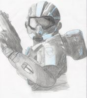 Halo 4 Spartan by Gamerwolfgirl