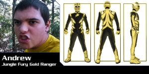Jungle Fury Gold Ranger by Andruril93