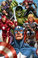 The Avangers by blewh
