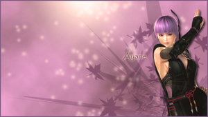 Ayane PSP wallpaper by QiaoFather