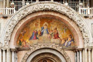 Basilica di San Marco - detail 1 by wildplaces