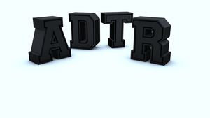 A Day To Remember - 3D Text by JS92
