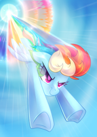 Sonic Rainboom by Left2Fail