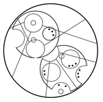Gallifreyan: Sherlock Holmes with Outer Circle by DoyouwantaJellyBaby