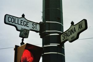 College And Spadina by Neville6000