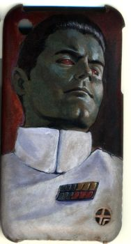 Thrawn iPhone case by gattadonna