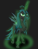 Bronycon S2012 P12: Queen Chrysalis by Pustulioooooo