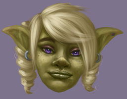 Zeela the Goblin by Dogslug