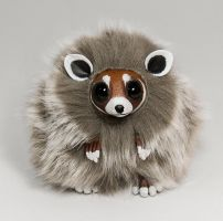 Red Panda / Sugar Glider Furry Creature by RamalamaCreatures