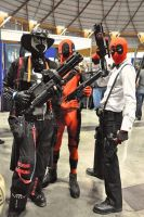 Spawn and Deadpool cosplay by slayer500