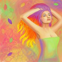 Colour-fall by e5ther