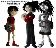 The nerd versions of US by annorekto
