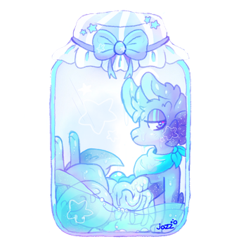 star in a jar (art trade) by pasteldoggle