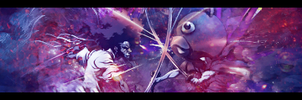Black Bear VS Afro Samurai by LazyN