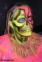 Braided Skull Zombie by Mr-Mordacious