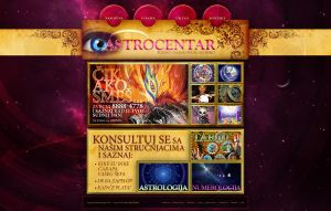 Astrology web site for a client by djnick2k