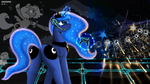 Game Over, Luna by AdlerToberg