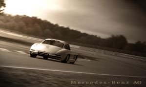 Mercedes Gullwing by JGDA9RS