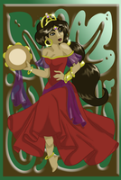 Jasmine as Esmeralda II- Color by whysp80
