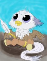 MLP-Silver-Quill as a baby work 4 by daylover1313