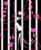 Cute Kitty Cats Brushes by Coby17