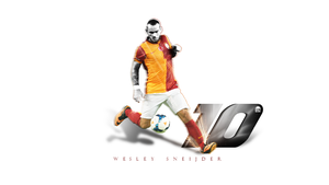 Wesley Sneijder Wallpaper by brkydesign
