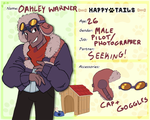 HT: Oakley Warner by ask-Marco-the-Owl