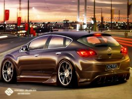 Opel Astra 2010 by Active-Design