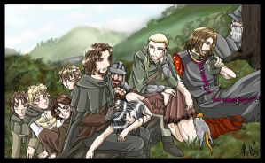 Lord of the Rings by AnnaGiladi