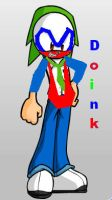 Doink the Clown Sonic Style by sonamy-666