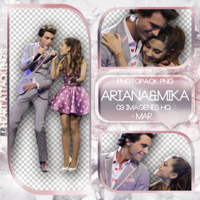 +Photopack png de Mika y Ariana. by MarEditions1
