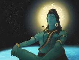 Shiva by travellingthecosmos