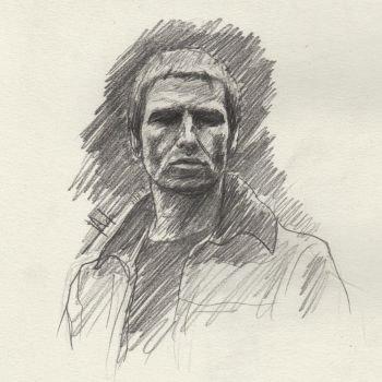 Liam Gallagher Sketch by SubliminAlex