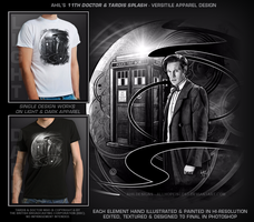 Doctor Who 11th Doctor Apparel Design by AHiLdesigns