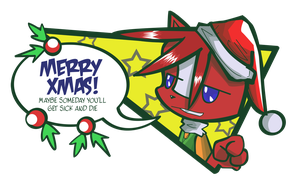 Merry Christmas from Hash by lmrl12