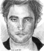 Rob Pattinson aka Edward by CyrionB