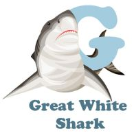 G is for Great White Shark by RSImpey