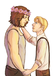 Stucky - flower crown by JoeyHazelLM