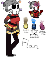 Flare Reference [BONOAKLEY'S OC] by q00pz
