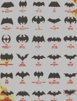 Batman Stages by Landino101