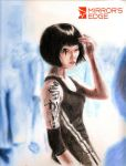 ...mirrors edge... by Claw333Ayane
